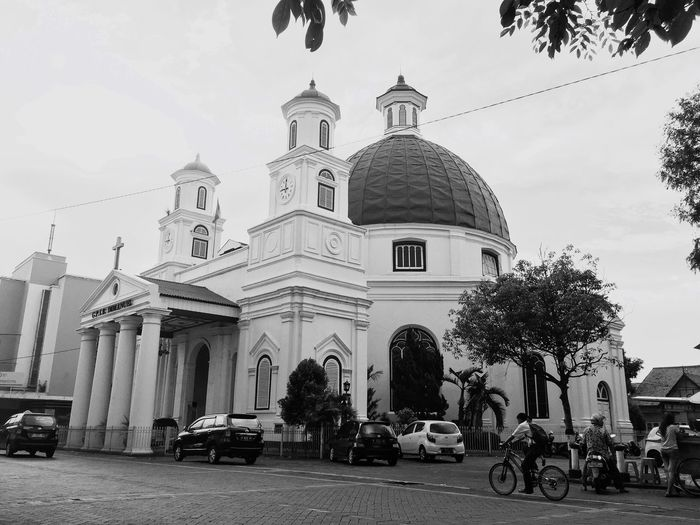 Semarang Old Town Church EyeEm Gallery Bnw Bnw_collection Old Buildings Bnw_society Travel Photography Semarang Architecture_collection EyeEm Best Shots EyeEm Best Shots - Black + White Up Close Street Photography The Architect - 2016 EyeEm Awards