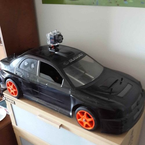 RC Model Mcd Proline subaru actioncam gopro hero3+