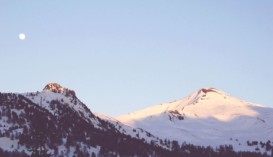 Mountains Landscape Snow Moon Showcase: February Tranquility Exceptional Photographs Pastel Power Landscapes With WhiteWall 43 Golden Moments Shades Of Winter
