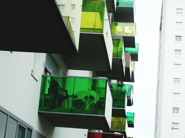 Apartment Balcony Plastic Clear Color