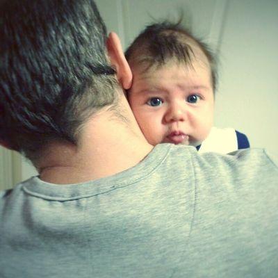 Babanin omzu gibisi yok :) Babyboy Dadandson ILoveDad
