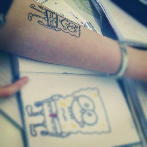SchoolWork Art Spongebob Krasseschei ße