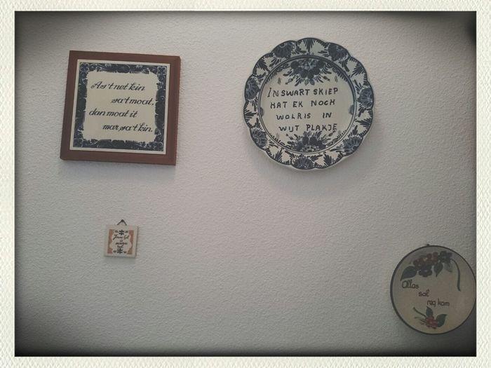 Wisdom in my grandaddy's bathroom! Wisedom Tiles Casting Spells Toilet Art