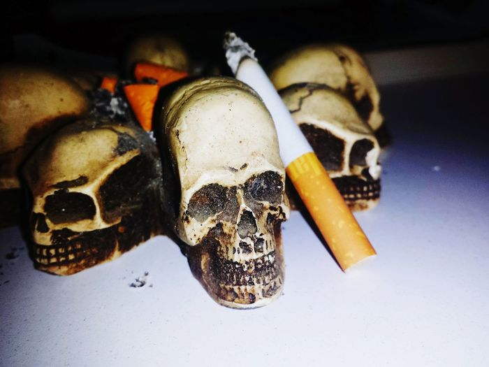 This happened when you are a smoker Nicotine Artistic Photo True Or False Galaxy Camera Sad Day