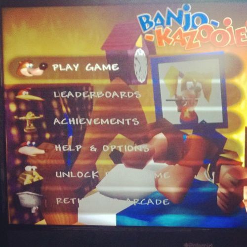 Xbox Rareware N64 Banjokazooie Oldschoolgaming