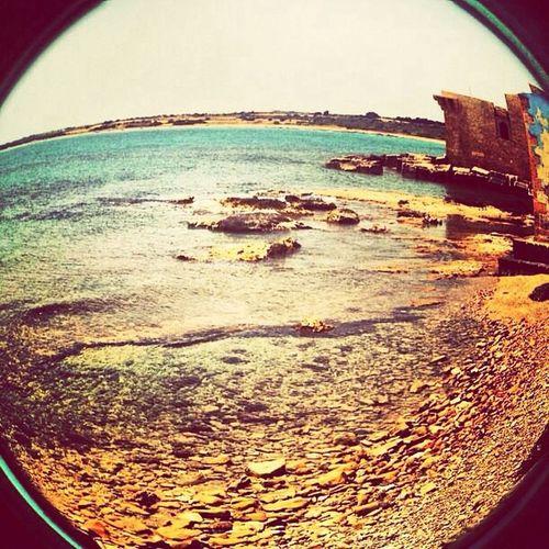 Fisheye Sun Beach Sicilia