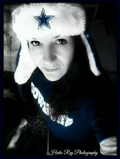 True German Girl Today's Hot Look Selfie Dallas Cowboys Kinda Girl🏈