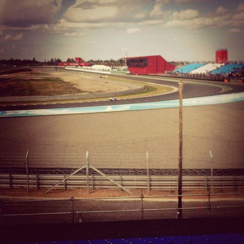 Motogp Motorcycles Test Racetrack