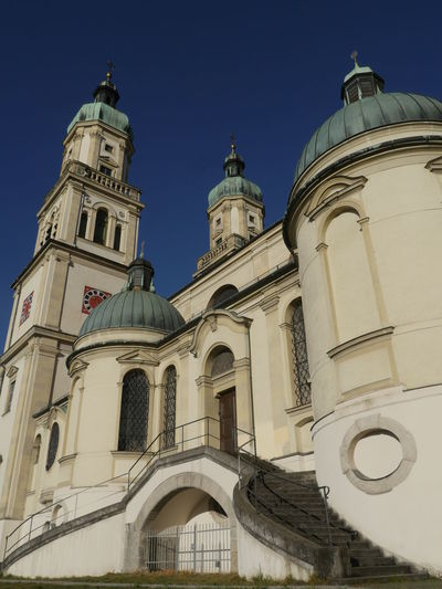 Basilika St. Lorenz Kempten Architecture Astronomical Clock Basilika St. Lorenz Kempten Building Exterior Built Structure City Clock Face Day History Low Angle View No People Outdoors Sky Travel Destinations