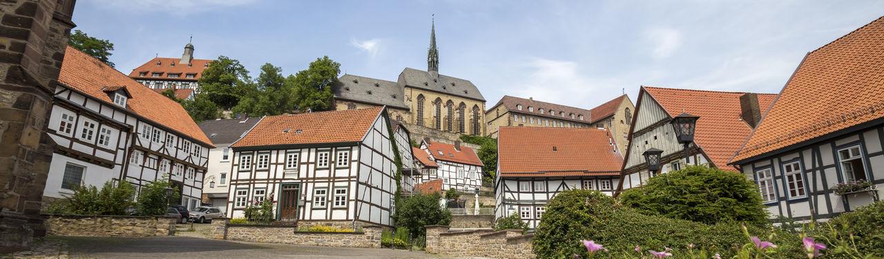warburg germany Buildings Germany Hessen Historic Summer Village Warburg Warburg Altstadt