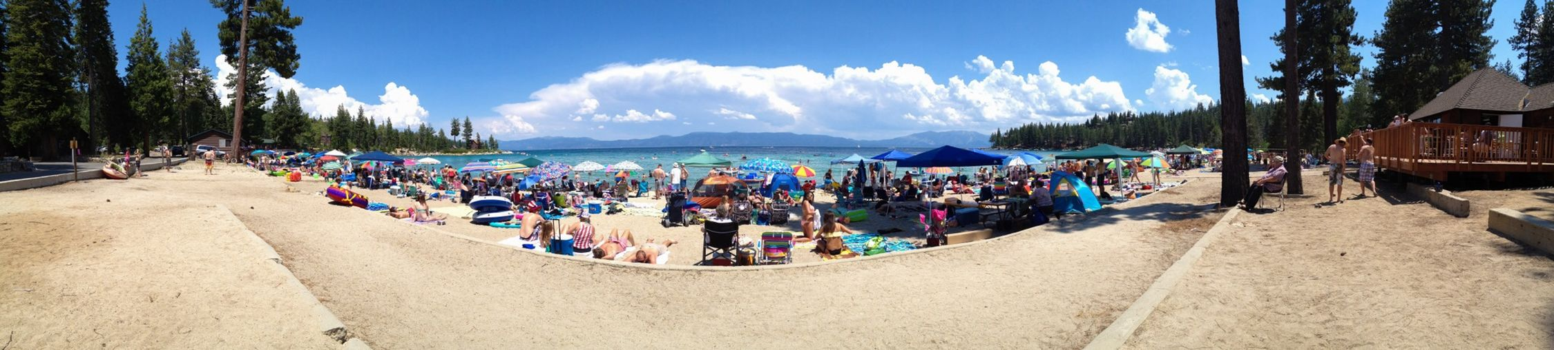 4th Of July at Meeks Bay on Lake Tahoe in 2013. Perfect Weather that day.