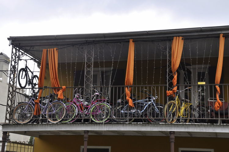 Bicycle Bike Bikeparking New Orleans Oldhouse USA