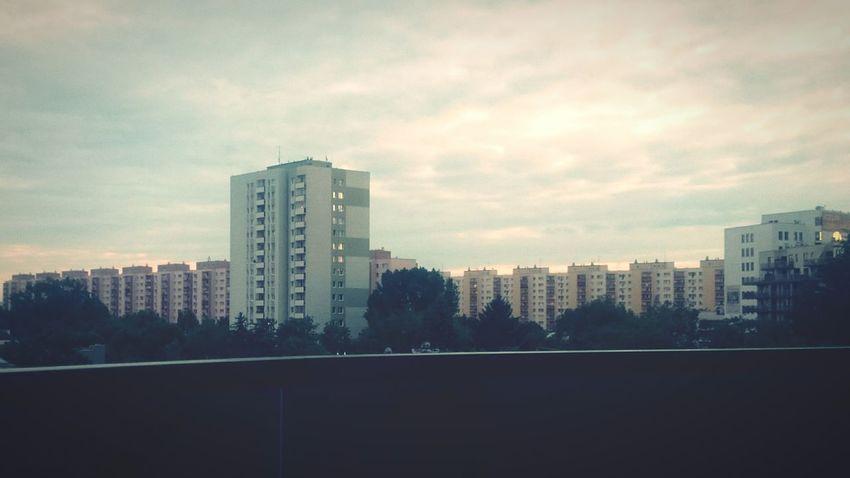 Day 112 of 365 . Urban Skyline Cityscape Cloud - Sky City Sky