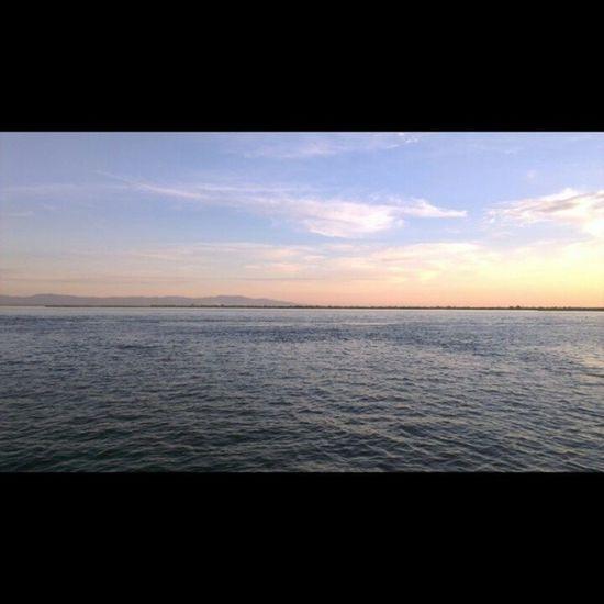 Изумительные краски Nofilter ПространствоХабаровск Sunset River sky colors