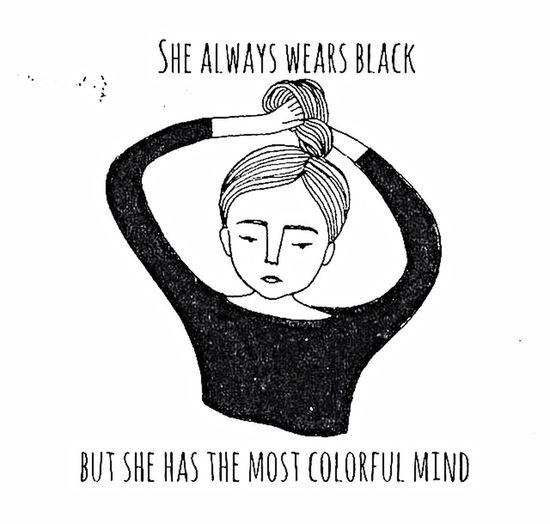 addicted to Black 🌚🌈