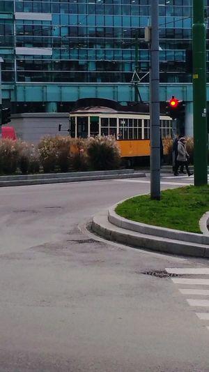 Street car Milan