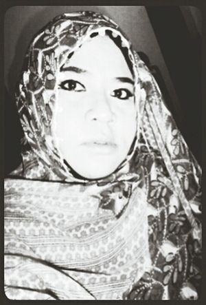 Fortheloveofblackandwhite Me Myself And I Self Portrait Indonesian Hijabers