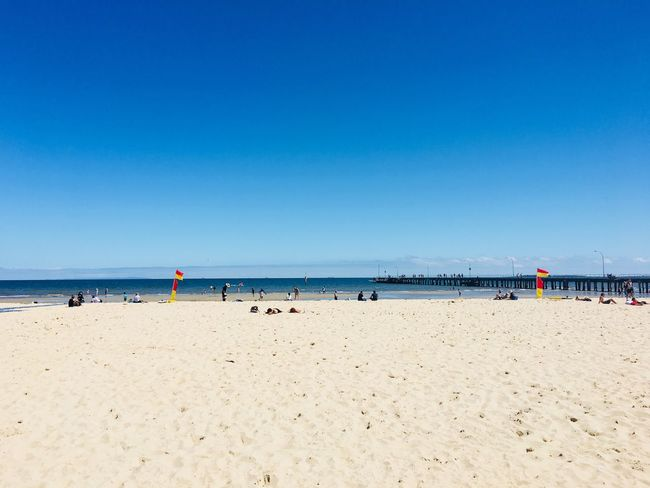 EyeEm Selects Beach Sand Sea Water Incidental People Blue