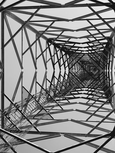 PERSPECTIVE Mast Tower Low Angle View Metal No People Pattern Built Structure Sky Day Complexity Steel Grid Outdoors Connection My Best Photo The Mobile Photographer - 2019 EyeEm Awards My Best Photo My Best Photo