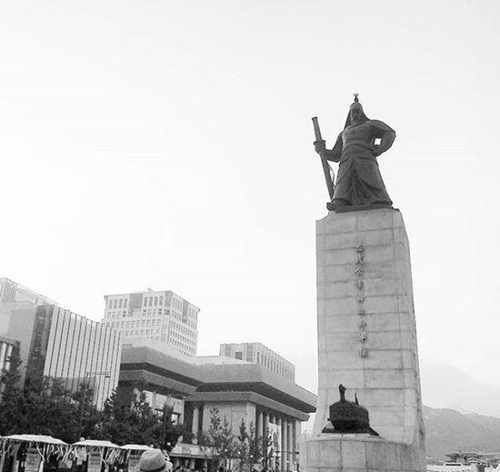 광화문 Korea KoreaTour Blackandwhite 이순신