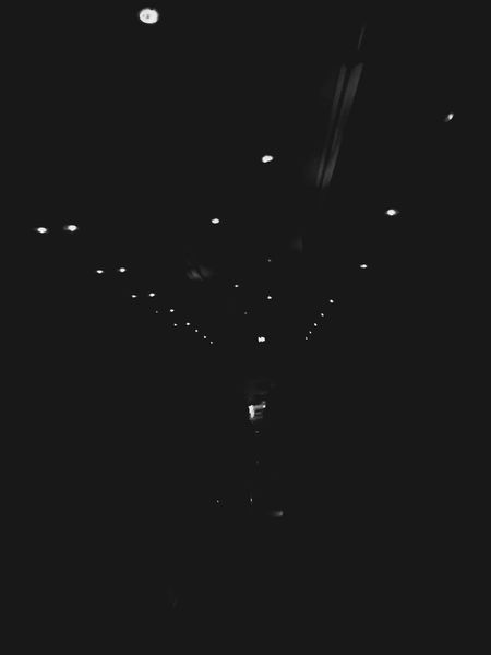 Dark Light Effect Night Bus Moment In Time