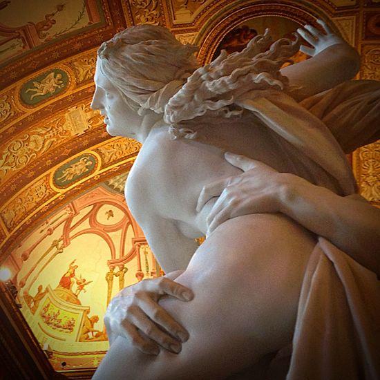 The Rape of Proserpina Villa Borghese Statue Baroque Il Ratto Di Proserpina Borghese Rome Italy
