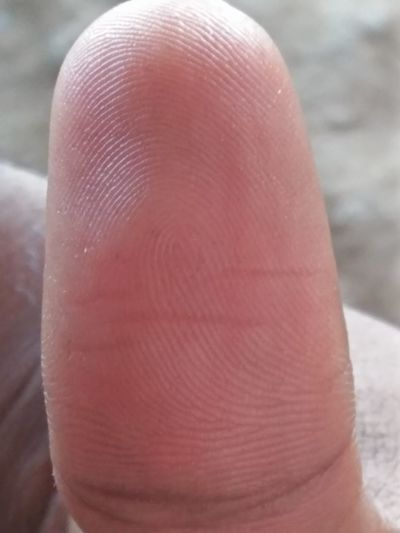 finger print Finger Print Thumb Finger Print Of Thumb Human Body Part One Person Close-up Human Hand Day One Man Only Only Men This Is Masculinity EyeEmNewHere