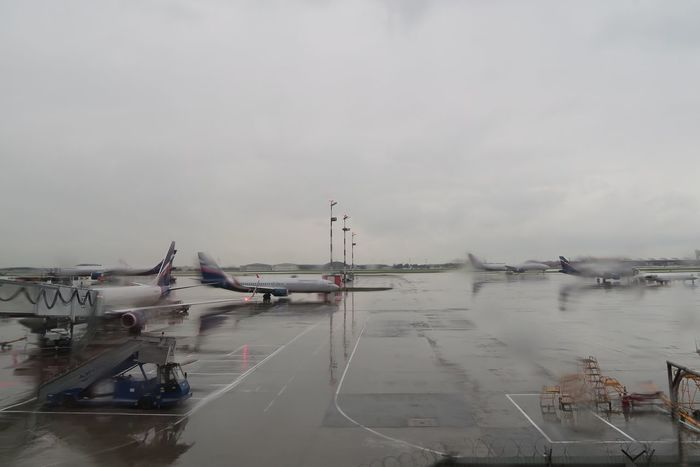 Transportation Airport Airport Runway Sky Airplane Runway Cloud - Sky Air Vehicle Travel Rain Rainy Day Airportphotography Airplaneview Airplanes Rainy RainyDay Transportation Weather Rainy Days Runway