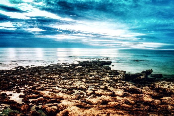Water Sea Nature Sky Beauty In Nature Beach Scenics Cloud - Sky Tranquil Scene Horizon Over Water Pebble Shore Tranquility Reflection No People Outdoors Wave Pebble Beach Coastline Day