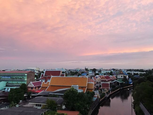 Love this moment Sky High Angle View Sunset Nature Thailand Cloud - Sky