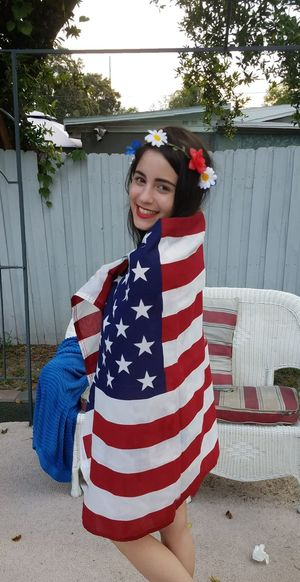 July4th American Flag USA Photos Happy4thOfJuly American Dream Smiling