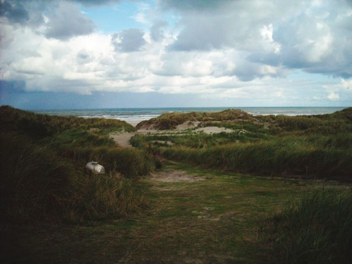 Terschelling The Netherlands Horizon Over Water Landscape Cultures Coastline Scenics Dramatic Sky View From The Top View Point Stormy Weather Beauty In Nature EyeEm Nature Lover EyeEm Best Shots - Nature marram grass Storm Cloud Cloud - Sky Sand Dune Sky_collection Coastline Nature Water
