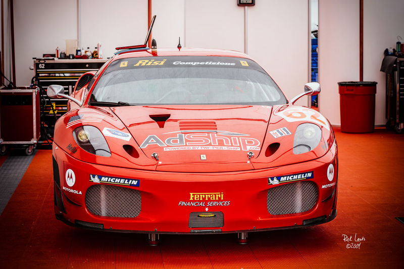 Risi Racing AdShip Ferrari F430 at the 2009 St Petersburg, Florida, Gran Prix AdShip Automobile Ferarri Ferrari F430 Florida Focus On Foreground No People Racing Car Red Risi Racing St Petersburg Vehicle First Eyeem Photo
