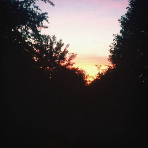 Hey😊 Peace Beautiful Sunset I had to take a picture of this beautiful sunset?? Pretty♡