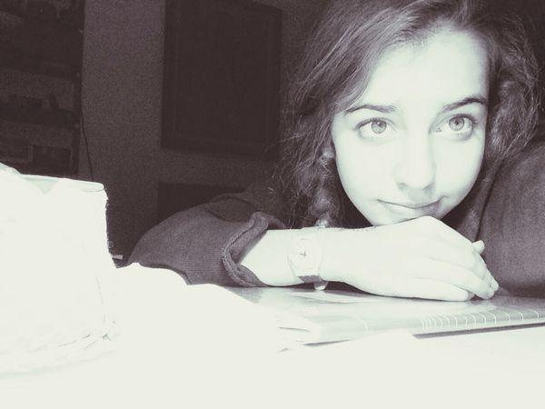 Working hard.. Working Hard School Bad Tired WantToSleep Goodnight