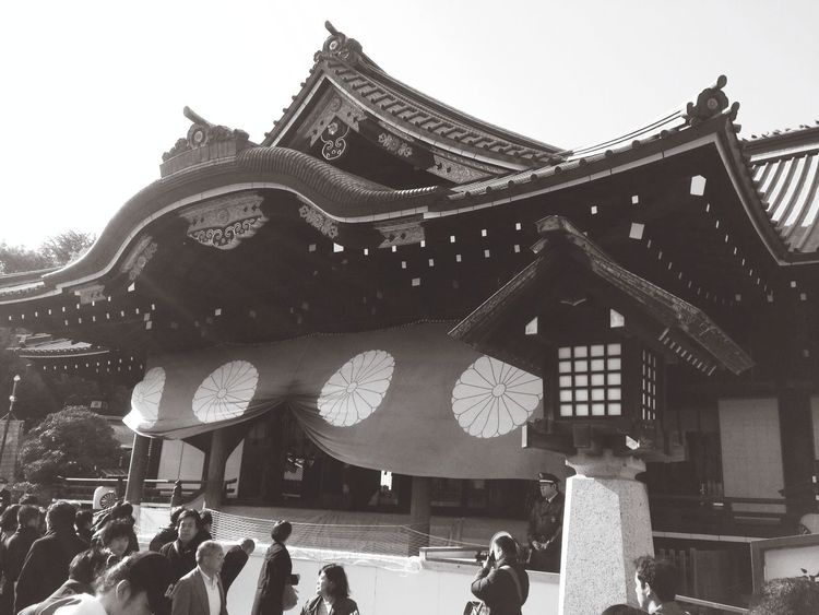 Happynewyear2014 初詣 Firstpicture Monochrome