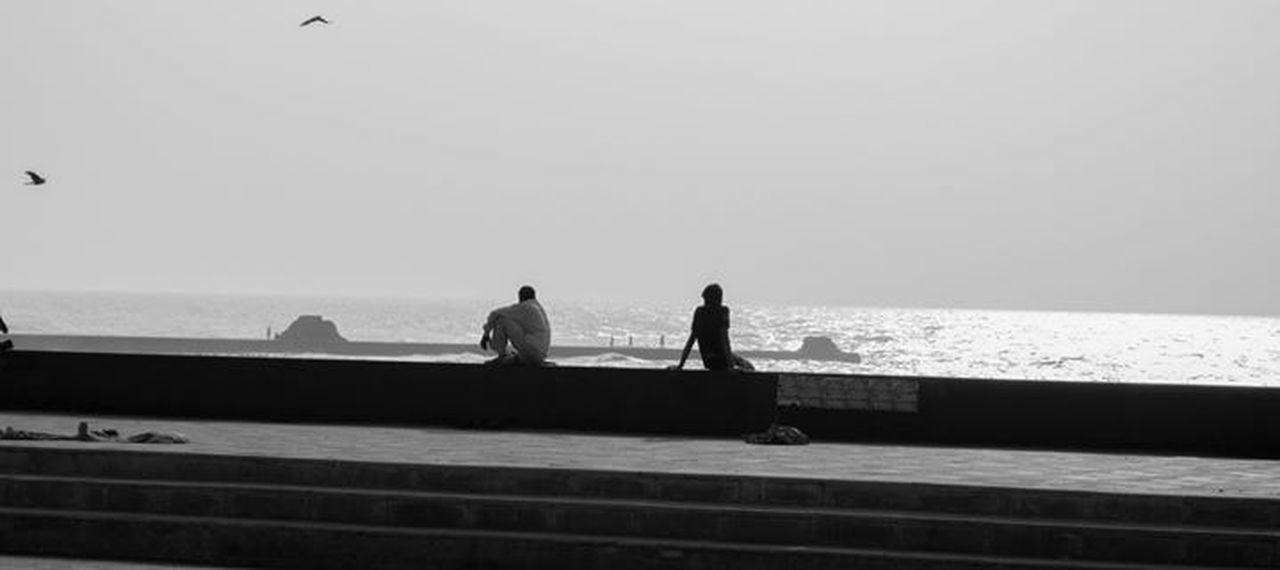 A relaxing evening Travel Mumbai Sea View