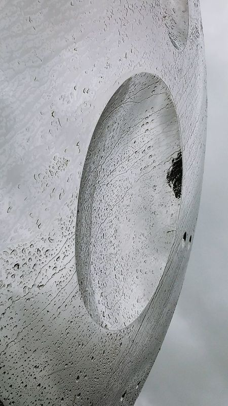 Outdoors Day Close-up No People Sculpture Yorkshire Water Rain