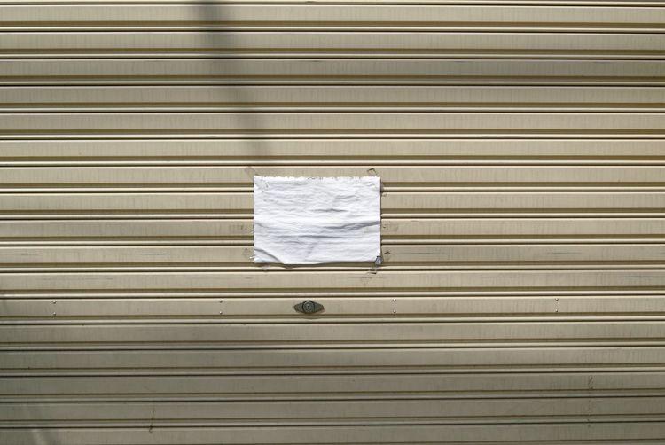 Paper stuck on shutter