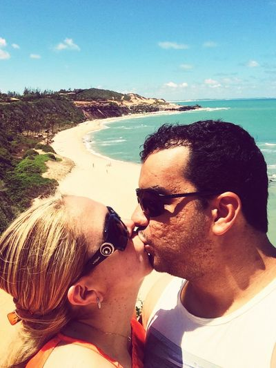 Brazil Relaxing Kiss Enjoying The Sun Couple Kissing PipaRN Vamobeijar Beijos Enjoying Life
