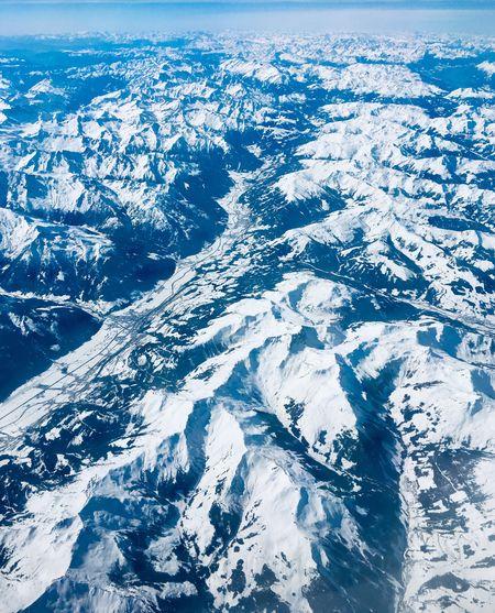 Alpen Von Oben Alpen Alpenpanorama