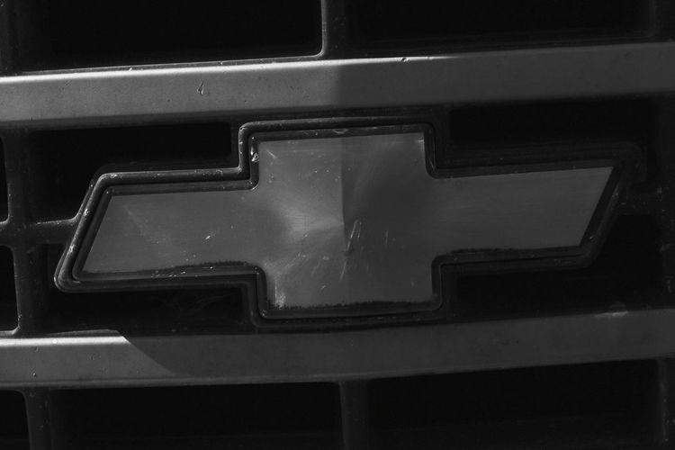 Backgrounds Metal Close-up Chevy Truck Chevy Emblem