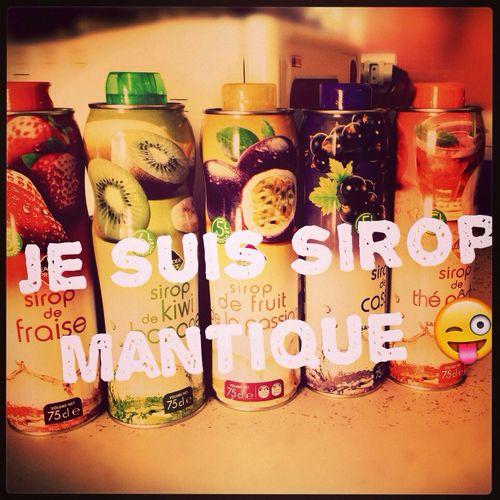 Sirop Mantique Sirop Romantic❤ Miam Miam