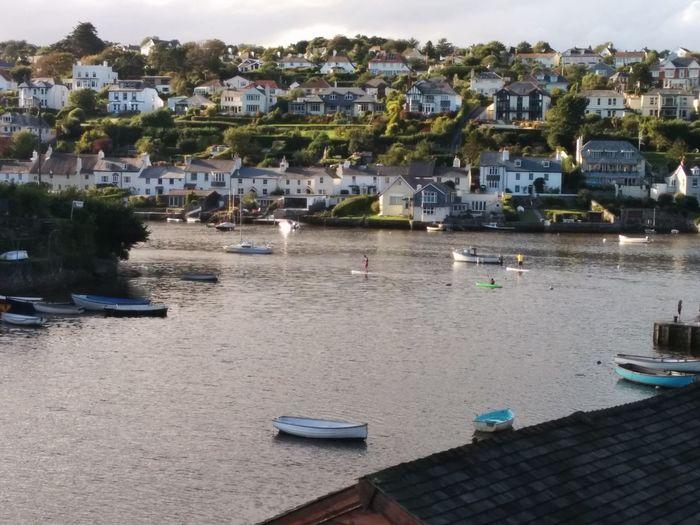 Devon Moored Nautical Vessel Newton Ferrers Noss Mayo Outdoors S Sailboat Sea Tranquil Village