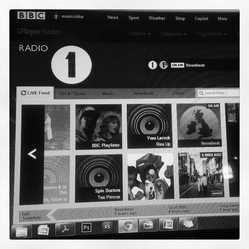 Nothing better to beat the stress than this 100happydays Day24 BBCRadio1 Gregjames britvoices toohawt