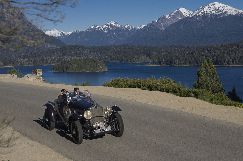1000 miles sport 1000milechallenge Adult Argentina Argentina Photography Argentino Bariloche Citytour Bariloche, Argentina Barioche Beach Circuitochico Classic Classic Car Day Friendship Full Length LlaoLlaoHotel Men Motorcycle Mountain Retirement Sky Togetherness Two People Water Wheelchair