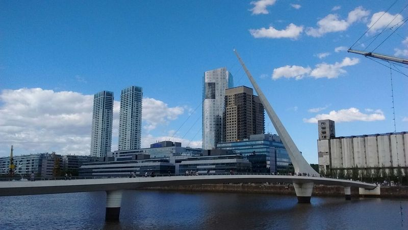 Puerto Madero, Argentina Puente De La Mujer Buenosaires