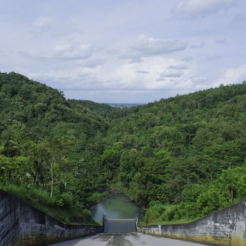 Growth Nature Plant Cloud - Sky Sky Outdoors No People INDONESIAYogyakarta, Indonesia Spillway Dam
