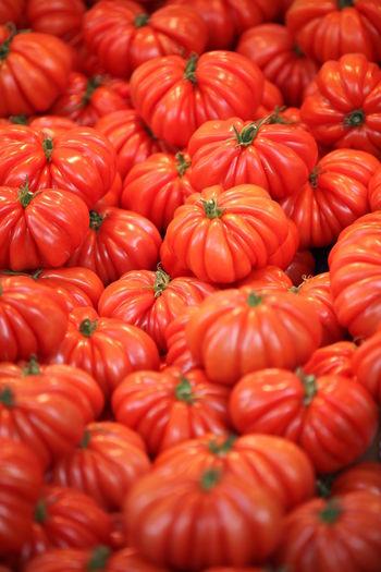 Coeur De Beuf Colore Colored Fruit Fruit Fruits Orange Red Red Tomato Tomato Yellow