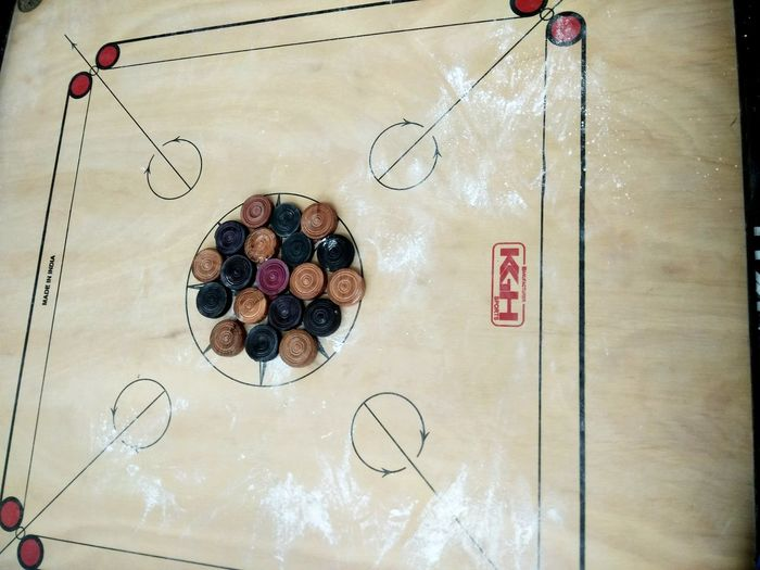 Indoors  No People Carrom Carromboard Indoor Games